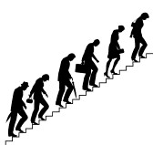 14427116-editable-vector-silhouettes-of-people-trudging-upstairs